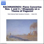 Rachmaninov: Piano Concertos Nos. 1 and 4 / Rhapsody On A Theme of Paganini - CD