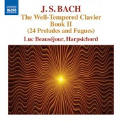 Luc Beauséjour: J.S. Bach: The Well-Tempered Clavier, Book 2 - CD