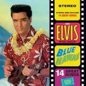 Elvis Presley: Blue Hawaii +1 Bonus Track - Limited Edition In Transparent Blue Vinyl. - Plak