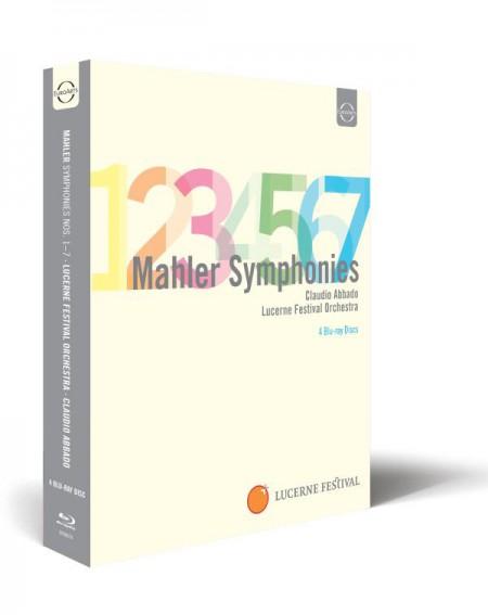 Eteri Gvazava, Magdalena Kožená, Anna Larsson, Yuja Wang, Lucerne Festival Orchestra, Claudio Abbado: Mahler: Symphonies Nos. 1-7 - BluRay