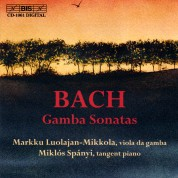 Markku Luolajan-Mikkola, Miklós Spányi: J.S. Bach: Gamba Sonatas - CD