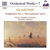 Alexander Anisimov: Glazunov, A.K.: Orchestral Works, Vol.  7 - Symphonies Nos. 1,