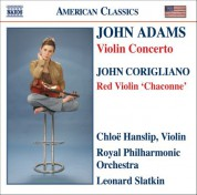 Adams, J.: Violin Concerto / Corigliano: Chaconne From The Red Violin - CD