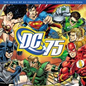 Çeşitli Sanatçılar: Music Of DC Comics: 75th Anniversary Collection  (Translucent Red Vinyl) - Plak