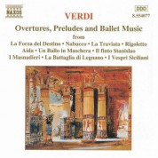 Verdi: Overtures /  Preludes /  Ballet Music - CD