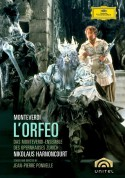 Monteverdi-Ensemble Zürcher Opernhaus, Chor des Opernhauses Zürich, Francisco Araiza, Nikolaus Harnoncourt: Monteverdi: L'orfeo - DVD