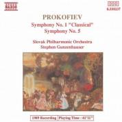 Prokofiev: Symphony No. 1, 'Classical' / Symphony  No. 5 - CD