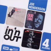 Joe Henderson: 4 Albums (Page One, Our Thing, In'n'Out, Mode for Joe) - CD