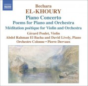 El-Khoury: Meditation Poetique / Piano Concerto / Poems Nos 1 and 2 - CD
