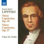 Xi Chen: Lipinski: 3 Capriccios - 3 Caprices - CD