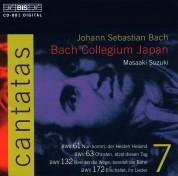 Bach Collegium Japan, Masaaki Suzuki: J.S. Bach: Cantatas, Vol. 7 (BWV 61, 63, 132, 172) - CD