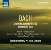 Gerard Schwarz: Bach: Orchestral transcriptions by Respighi & Elgar - CD