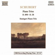 Schubert: Piano Trios in B-Flat Major, D. 898 and D. 28 - CD
