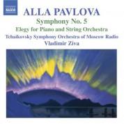 Tchaikovsky Symphony Orchestra of Moscow Radio, Vladimir Ziva: Pavlova: Symphony No. 5 - Elegy - CD