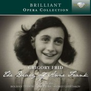Eva Ben-Tsvi, Bolshoi Theatre Orchestra, Andrey Chistiakov: Frid: The Diary of Anne Frank - CD