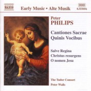Philips: Cantiones Sacrae / Quinis Vocibus - CD