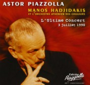 Astor Piazzolla, Manos Hadjidakis, L'orchestre Athenien des Couleurs: Astor Piazzolla - L'Ultime Concert - CD