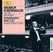 Berliner Philharmoniker, Wilhelm Furtwängler: Beethoven: Symphonies Nos. 5  + 7 - CD