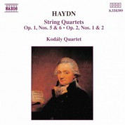 Kodály Quartet: Haydn: String Quartets Nos. 5-8, Op. 1, Nos. 0 & 6, and Op. 2, Nos. 1 & 2 - CD