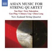 New Zealand String Quartet: Asian Music for String Quartet - CD