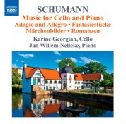 Karine Georgian: Schumann: Music for Cello and Piano - CD