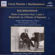 Rachmaninov: Piano Concertos Nos. 1 and 4 (Rachmaninov) (1939-1941) - CD