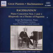 Rachmaninov: Piano Concertos Nos. 1 and 4 (Rachmaninov) (1939-1941) - CD