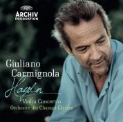 Alessandro Moccia, Giuliano Carmignola, Orchestre des Champs-Élysées: Haydn: Violin Concertos - CD