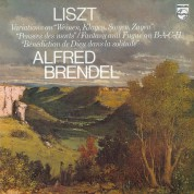 Alfred Brendel: Liszt: Variations on Bach's Cantata, Fantasy and Fugue on Bach - Plak