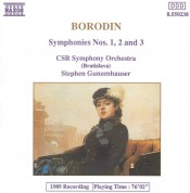 Slovak Radio Symphony Orchestra Bratislava, Stephen Gunzenhauser: Borodin: Symphonies 1,2 & 3 - CD