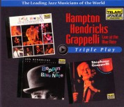 Lionel Hampton, Jon Hendricks, Stephane Grappelli: Triple Play At The Blue Note - CD