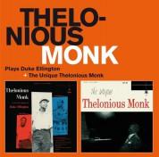 Thelonious Monk: Palys Duke Ellington + The Unique Thelonious Monk - CD