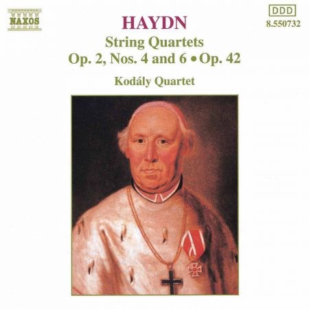 Haydn: String Quartets Op. 42 and Op. 2, Nos 4 and 6 - CD