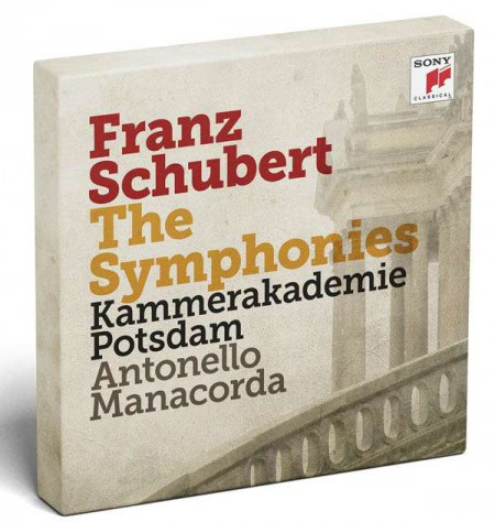 Antonello Manacorda, Kammerakademie Potsdam: Schubert: Symphonies No 1 - 8 - CD