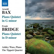 Ashley Wass: Bax: Piano Quintet in G minor - Bridge: Piano Quintet in D minor - CD