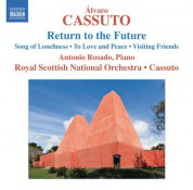 Alvaro Cassuto, Royal Scottish National Orchestra: Álvaro Cassuto: Return to the Future - CD