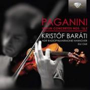 Kristóf Baráti, NDR Radiophilharmonie Hannover, Eiji Oue: Paganini: Violin Concertos Nos. 1 & 2 - CD