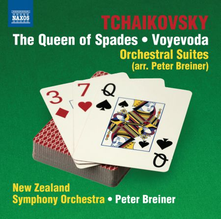 Peter Breiner, New Zealand Symphony Orchestra: Tchaikovsky: The Queen of Spades - Voyevoda Suites - CD