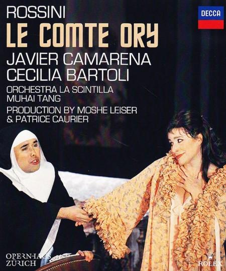 Cecilia Bartoli, Javier Camarena, Moshe Leiser, Muhai Tang, Orchestra La Scintilla, Patrice Caurier: Rossini: Le Comte Ory - BluRay
