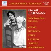 Elisabeth Schumann: Schumann, Elisabeth: Early Recordings (1915-1923) - CD