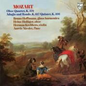 Heinz Holliger, Aurèle Nicolet, Herman Krebbers, Karl Schouten, Jean Decroos: Mozart: Oboe Quartet and String Quintet, a.o. - Plak