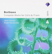 János Starker, Rudolf Buchbinder: Beethoven: Complete Works For Cello & Piano - CD