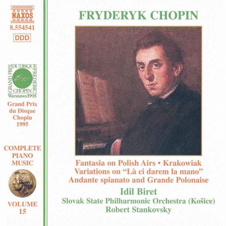 Chopin: Fantasia On Polish Airs / Andante Spianato / Krakowiak - CD