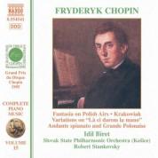 Chopin: Fantasia On Polish Airs / Andante Spianato / Krakowiak - CD