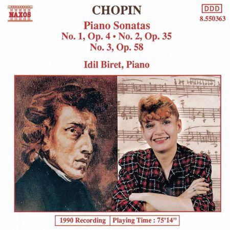 Chopin: Piano Sonatas Nos. 1-3 - CD