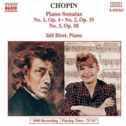 Chopin: Piano Sonatas Nos. 1-3 - CD