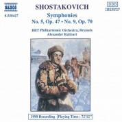 Shostakovich: Symphonies Nos. 5 and 9 - CD