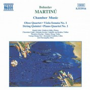 Martinu: Chamber Music - CD