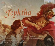 John Mark Ainsley, Michael George, Christiane Oelze, RIAS Kammerchor, Akademie für Alte Musik Berlin, Marcus Creed: Handel: Jephtha - CD