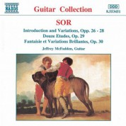 Jeffrey McFadden: Sor: Introduction and Variations Opp. 26-28 / Etudes Op. 29 - CD
